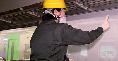 安全を支える 車両検査修繕 整備業務